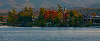 Photograph - Lake Placid New York by Brenda Jacobs