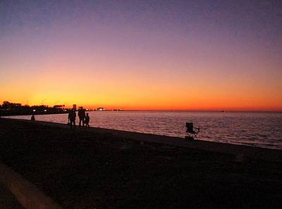 Photograph - Lake Pontchartrain Sunset by Deborah Lacoste