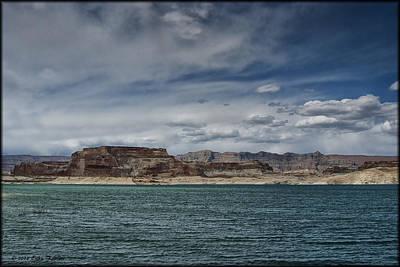 Photograph - Lake Powell by Erika Fawcett