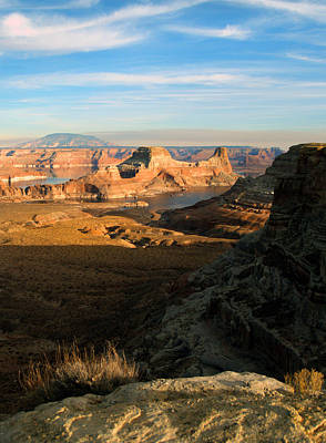 Photograph - Lake Powell From Alstrum Pt 02 by Jeff Brunton