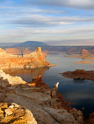 Photograph - Lake Powell From Alstrum Pt 12 by Jeff Brunton