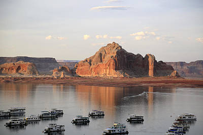 Photograph - Lake Powell by Gladys Turner Scheytt