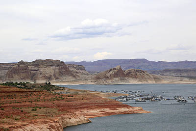 Photograph - Lake Powell View II by Gladys Turner Scheytt