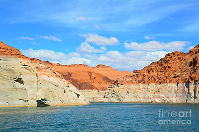Photograph - Lake Powell Navajo Canyon by Debra Thompson