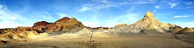Photograph - Lake Powell Smokey Mt Rd Pan by Jeff Brunton