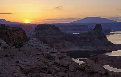 Photograph - Lake Powell Sunrise  by Saija  Lehtonen