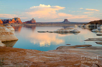 Photograph - Lake Powell Tower Butte by Kate Sumners