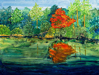 Painting - Lake Powhatan by Patricia Beebe
