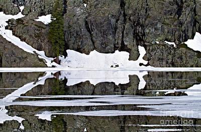 Photograph - Lake Reflection II by Stuart Gordon