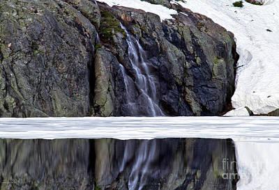 Photograph - Lake Reflection IIi by Stuart Gordon