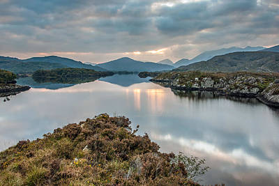 Photograph - Lake Reflection In Killarney National Park Ireland by Pierre Leclerc Photography
