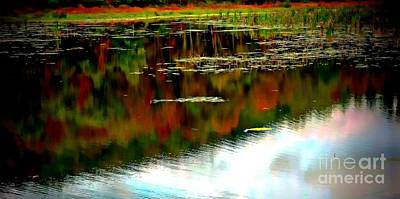 Photograph - Lake Reflection by Marcia Lee Jones