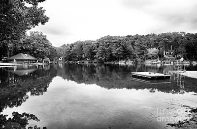 Photograph - Lake Reflections At Erskine by John Rizzuto