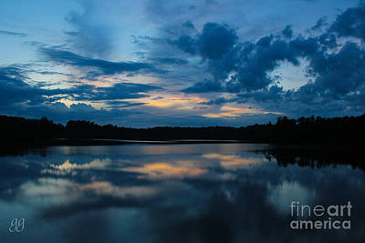 Photograph - Lake Reflections by Geri Glavis