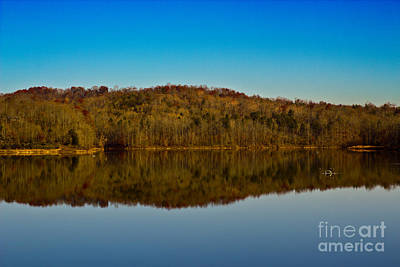 Photograph - Lake Reflections by Michael Waters