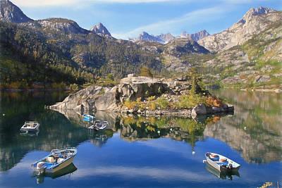 Photograph - Lake Sabrina by Donna Kennedy