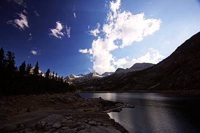 Photograph - Lake Sabrina Late Afternoon by Michael Courtney
