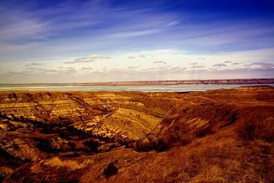 Birds Rights Managed Images - Lake Sakakawea North Dakota Royalty-Free Image by Jeff Swan