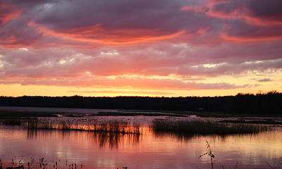 Photograph - Lake Sampson Sunset 31 by rd Erickson