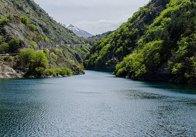 Photograph - Italian Landscapes - Lake San Domenico by Andrea Mazzocchetti