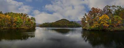 Lake Santeetlah Art Print by Debra and Dave Vanderlaan