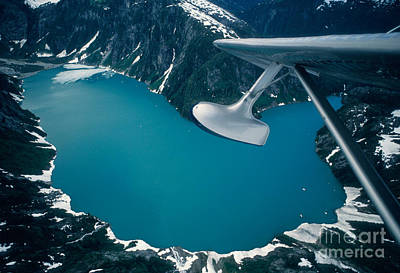 Alluvium Photograph - Lake Seen From A Seaplane by Ron Sanford