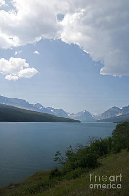 Photograph - Lake Sherburne - Glacier Np by Cindy Murphy - NightVisions