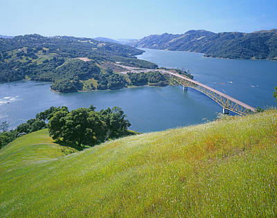 Photograph - 3b6381-lake Sonoma  by Ed  Cooper Photography