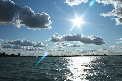 Photograph - Lake St. Clair Sunset by Stephanie  Kriza