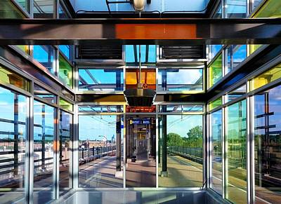 Lake Street Rail Station Art Print