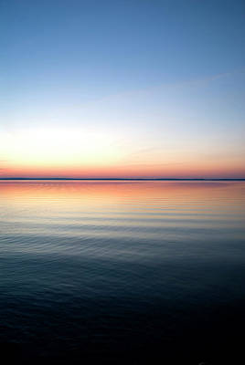 Maine Nature Photograph - Lake Sunrise, Maine by Peter Dennen