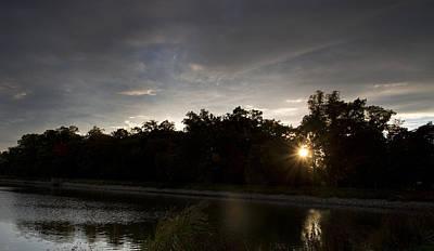 Lake Sunset Original
