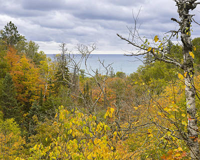 Photograph - Lake Superior In Fall Colors by Jack R Perry