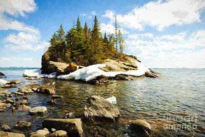 Photograph - Lake Superior by Lori Dobbs