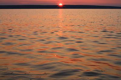 Photograph - Lake Superior Sunset by Dan Sproul