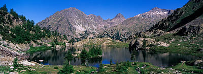 Lake Surrounded By Mountains Print by Panoramic Images