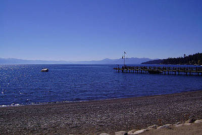 Mountain Photograph - Lake Tahoe #7 by J D Owen