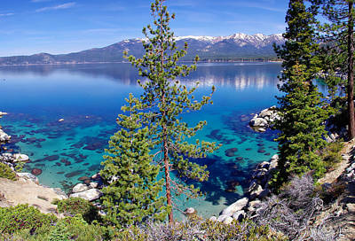 Sand Harbor Photograph - Lake Tahoe Beauty by Scott McGuire