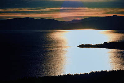 Photograph - Lake Tahoe Brockway View by William Havle