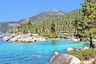 Photograph - Lake Tahoe Cove by Jane Girardot