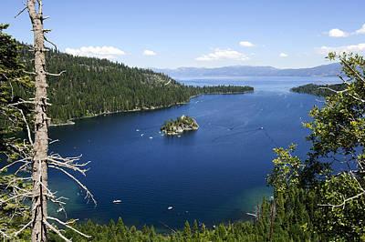 Bob Clark Photograph - Lake Tahoe Emerald Bay by Bob Clark
