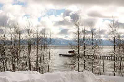 Lake Tahoe In Winter Art Print by Denice Breaux