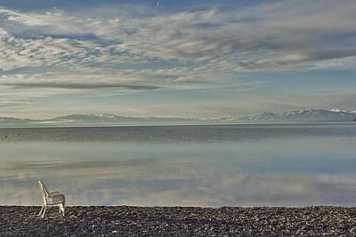 Photograph - Lake Tahoe March Morning by Larry Darnell