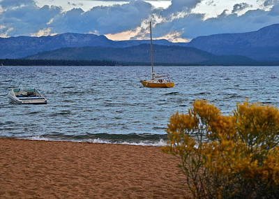 Photograph - Lake Tahoe On A Windy Afternoon by Kirsten Giving