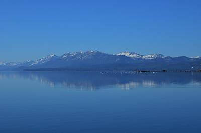 Photograph - Lake Tahoe Reflection by Marilyn MacCrakin