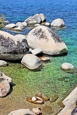 Photograph - Lake Tahoe Shore by Jane Girardot