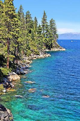 Photograph - Lake Tahoe Shoreline by Jane Girardot