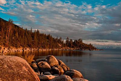 Photograph - Lake Tahoe Sunet by John McGraw
