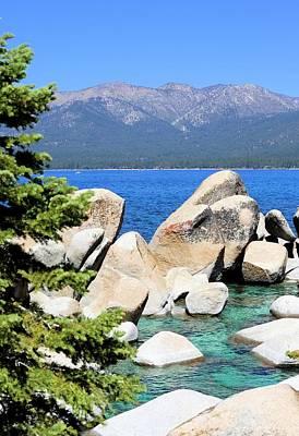 Photograph - Lake Tahoe View by Jane Girardot