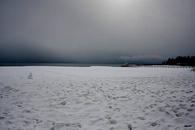Photograph - Lake Tahoe Winter by Kyle Simpson